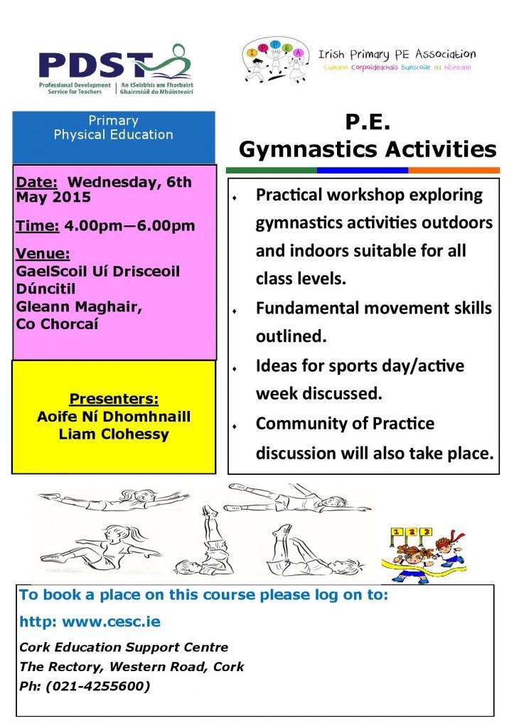 Gymnastics Activities May 2015