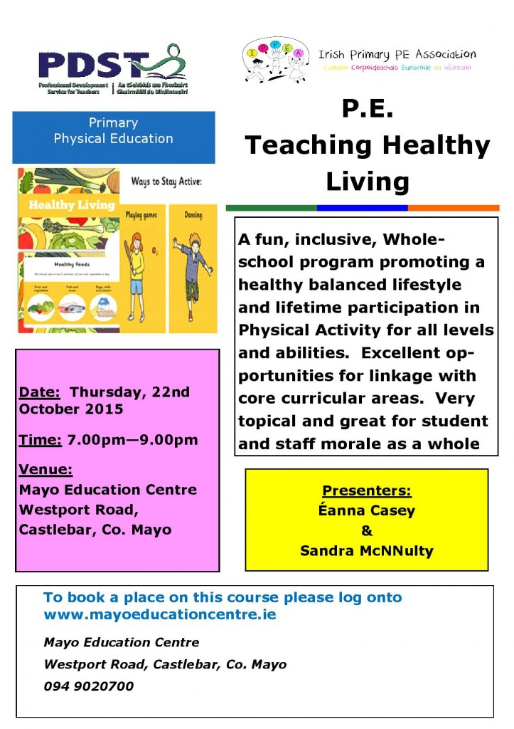 Teaching Healthy Living - 22nd Oct Mayo-page-001